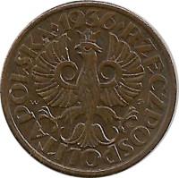 Какая ценность польской монеты 1937 года 1823 год