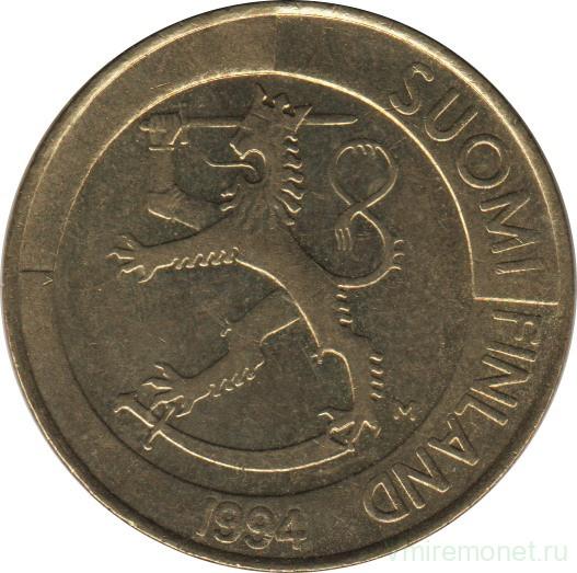 Финляндия 1 марка 1994 200 гривень