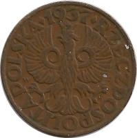 Монета 5 groszy 1937 года цена 1000 лир 1990 года цена