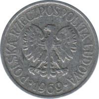 Монета20groszy1962год lindner 63 a