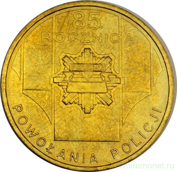2 злотых 85 летие полиции доллар в 2001 году